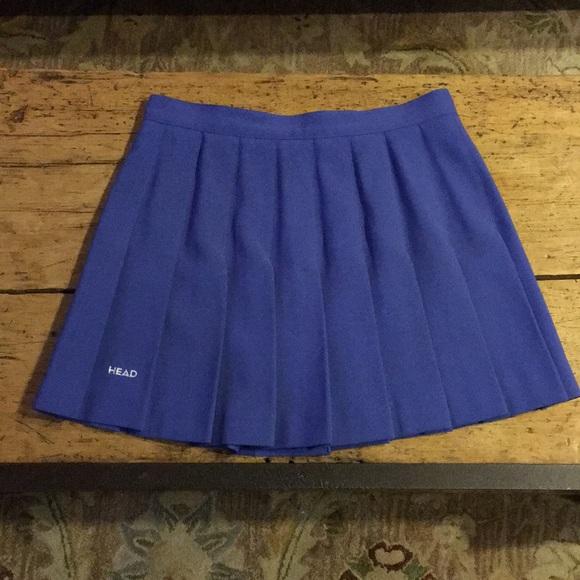 a56e9477ab Head Dresses & Skirts - EUC Head Blue Pleated Tennis Skirt